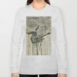 """GUITAR. A SERIES OF WORKS """"MUSIC OF THE RAIN"""" Long Sleeve T-shirt"""