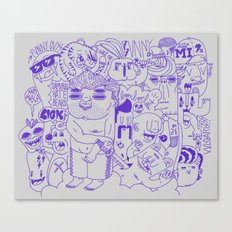 Funny Guys Canvas Print