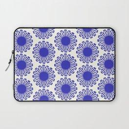 vintage flowers blue  Laptop Sleeve