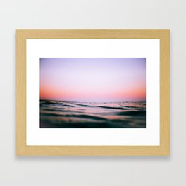 Pink Ocean (Film) Framed Art Print
