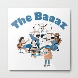 The Baaaz Metal Print