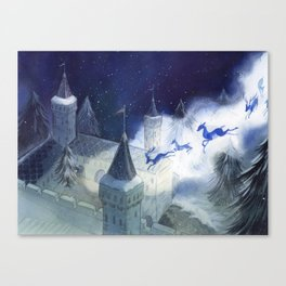 December's Tale Canvas Print