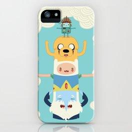 Adventure Totem iPhone Case