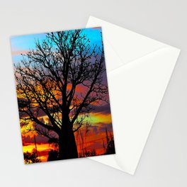 Candy Colour Sunset thru Boab Stationery Cards