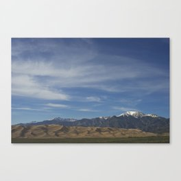 The Great Dunes Canvas Print