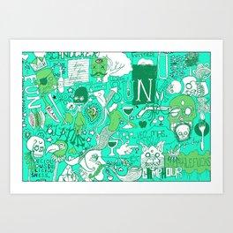 Fun Stuff Art Print