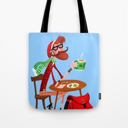 Kringle Or Hipster? Tote Bag