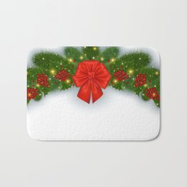 Christmas decoration Bath Mat