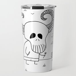 Death Pizza Party Travel Mug
