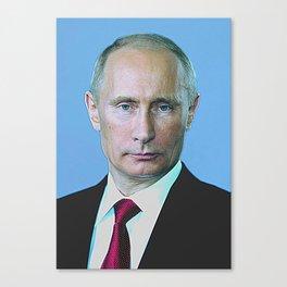 Russian President Vladimir Putin 3a Canvas Print
