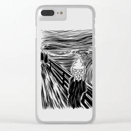 Ice Scream Clear iPhone Case