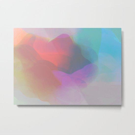 watercolor paint Metal Print
