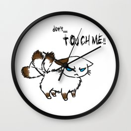 Don't touch me! Wall Clock