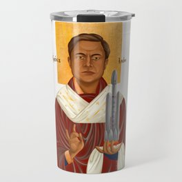 Holy Prophet Elon Musk isolated Travel Mug