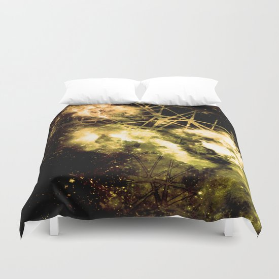 ε Gold Aquarii Duvet Cover