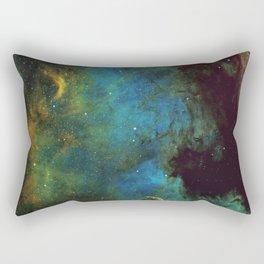 North American and Pelican Nebula Rectangular Pillow