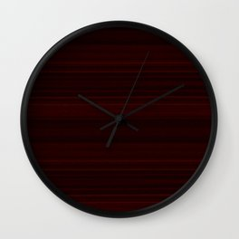 Mahogany Wood Texture Wall Clock