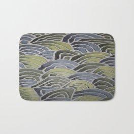 Waves - Pattern Design - Wild Veda Bath Mat