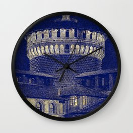 The Castle #1 Wall Clock