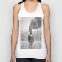 anxiety Tank Tops featuring Anxiety by Alex Gregory Mears