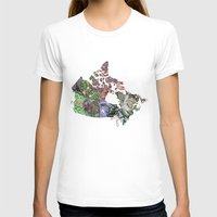 canada T-shirts featuring Canada by minouette