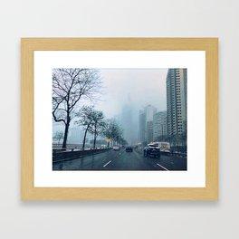 Blue April Framed Art Print