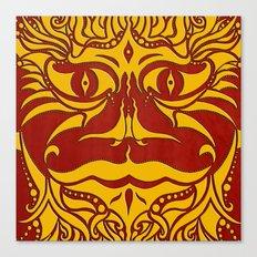 kundoroh gold gallery mandala Canvas Print