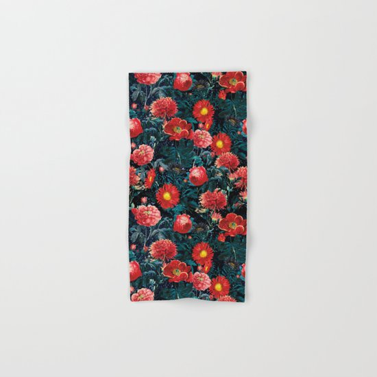 NIGHT FOREST XIX Hand & Bath Towel