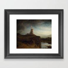 Rembrandt van Rijn - The Mill Framed Art Print