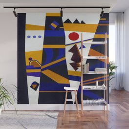Wassily Kandinsky Binding Wall Mural