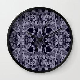 Indigo Dreamin' Vol.1 Wall Clock