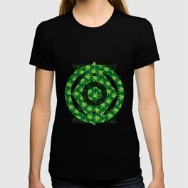 420 Pattern T-shirt