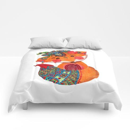 The Prince of Fox Comforters