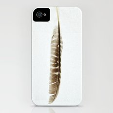Feather Photograph: Elegant iPhone (4, 4s) Slim Case