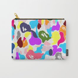 B APE colorful pattern Carry-All Pouch