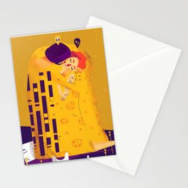 Der Kuss, actual love. Stationery Cards