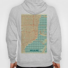 Miami Map Retro Hoody