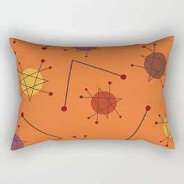 Atomic Era Autumn 2 Rectangular Pillow