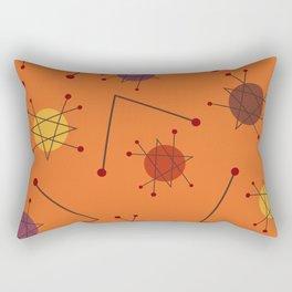 Atomic Era Autumn 2 Rectangular Pillow
