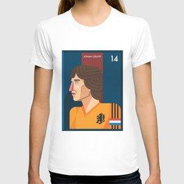 Johan Cruyff, The Godfather of Modern Football T-shirt
