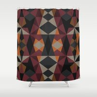 mirror Shower Curtains featuring Mirror by Leandro Pita