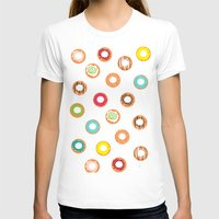 donuts T-shirts featuring DONUTS by Wen Li T