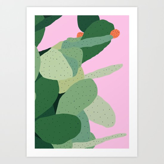 Prickly Pear I Art Print