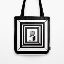 heart maze . Tote Bag