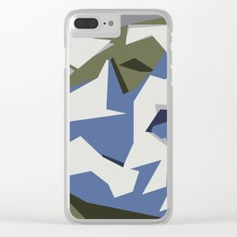 Flying birds Clear iPhone Case