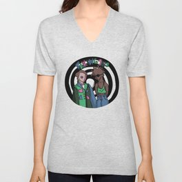 Faking Jazz Unisex V-Neck