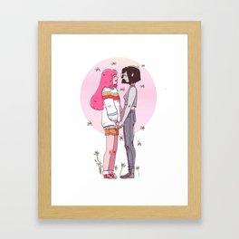 Stakes Framed Art Print