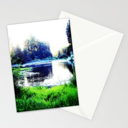 On This Mythical Morn' Stationery Cards