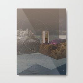 atmosphere 12 · Point of Entry Metal Print
