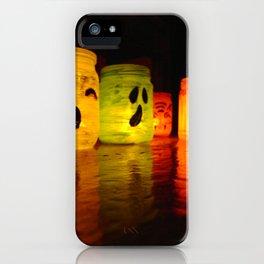 Halloween Lights. iPhone Case